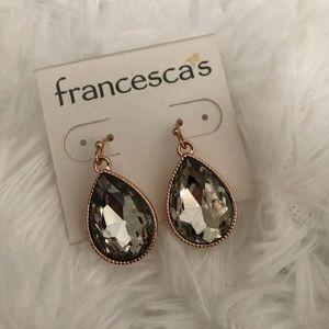 Francesca's Teardrop Earrings